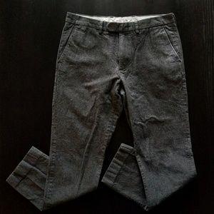 J. Crew Men's Grey Bowery Pant Size 31x30